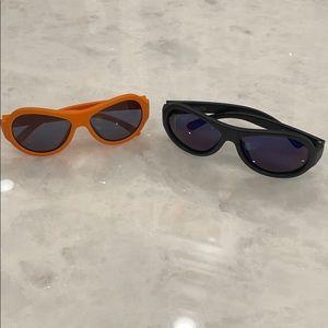 2 pairs boys babiators sunglasses